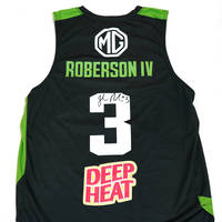 Signed Roberson 3 Inaugural Match-Worn Home Jersey Auction1