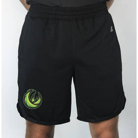 Black Black Coaches Shorts