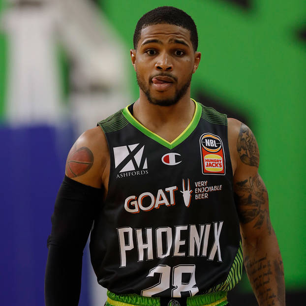 mainSigned Keifer Sykes 28 NBL21 Match-Worn Home/Away Pack Jersey Auction1