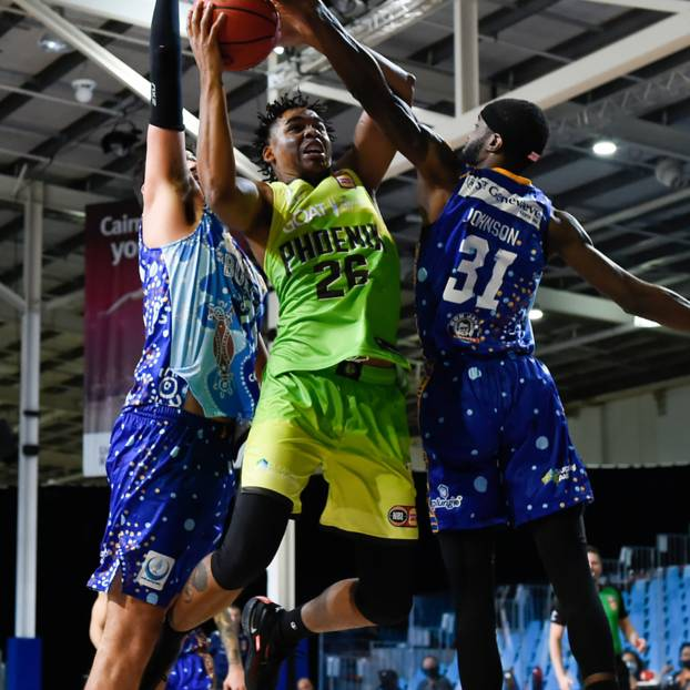 Signed Ben Moore 26 NBL21 Match-Worn Phoenix Goes Green Jersey Auction0