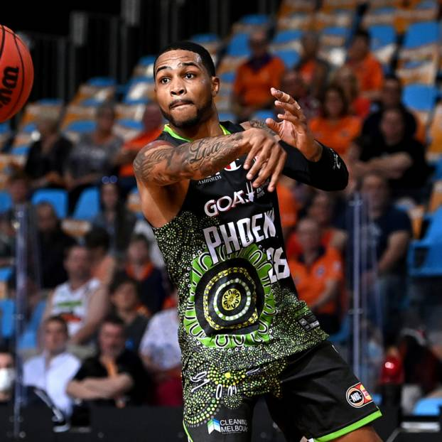 Signed Keifer Sykes 28 NBL21 Match-Worn Indigenous Round  Jersey Auction0