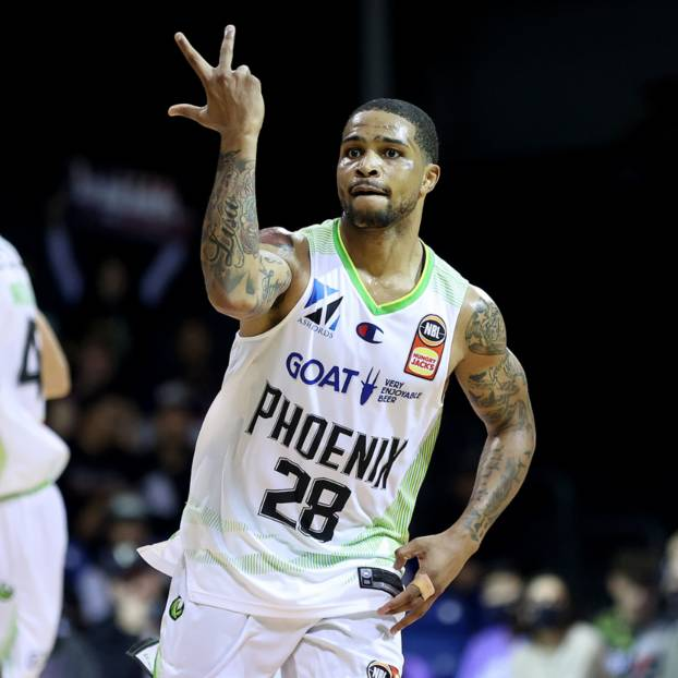 mainSigned Keifer Sykes 28 NBL21 Match-Worn Home/Away Pack Jersey Auction0